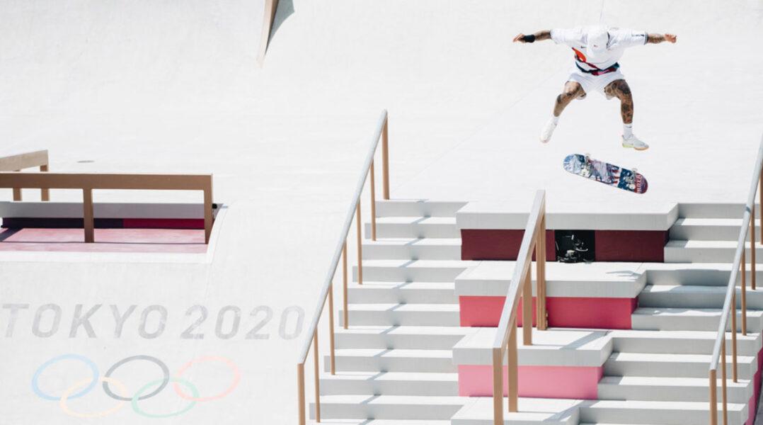Favorite Nyjah Huston Falls Short in Olympic Debut of Skateboarding in Tokyo
