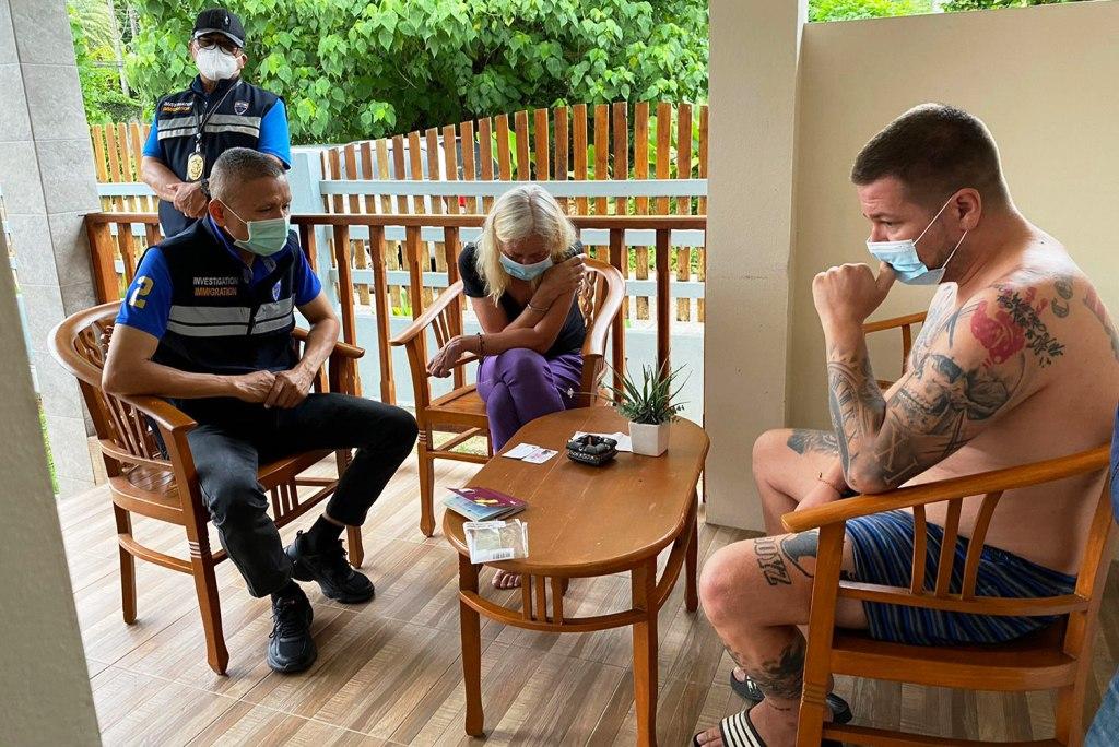 Immigration Police Arrest German Fugitives in Southern Thailand