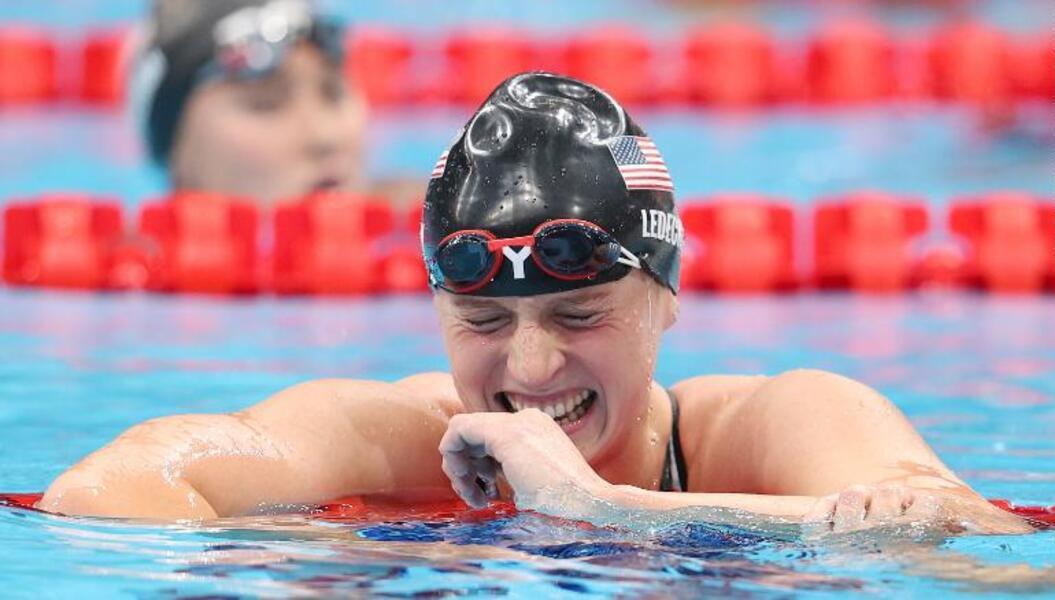 Katie Ledecky Inspired to 'Put a Smile on Someone's Face' As She Takes 1500m Gold at The Tokyo Olympics