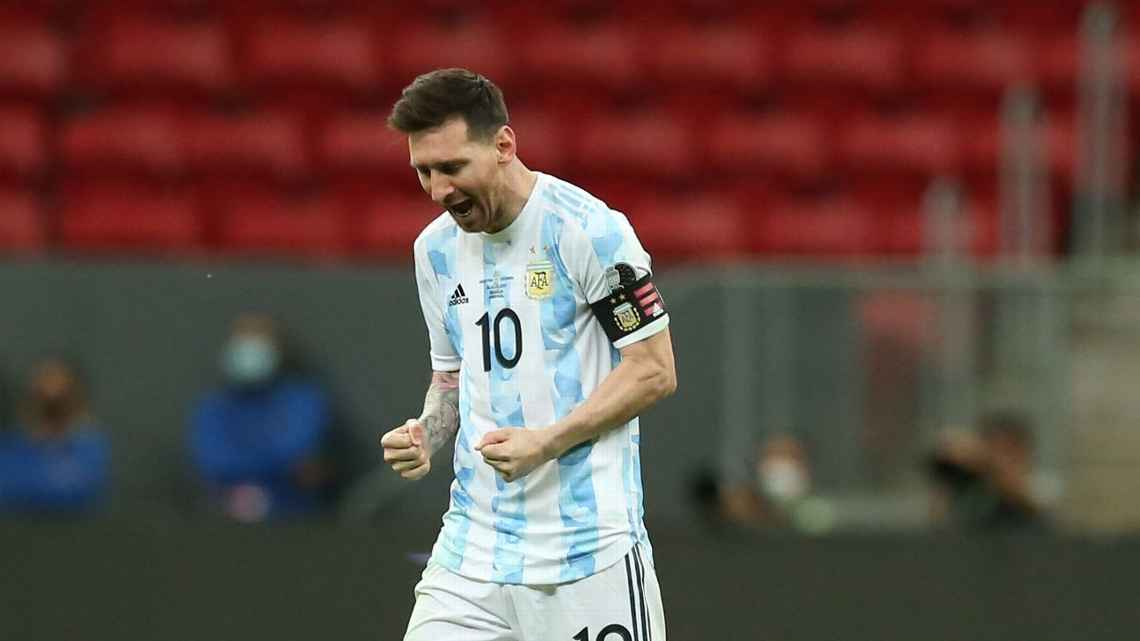 Lionel Messi has the chance to win his first major trophy with Argentina.