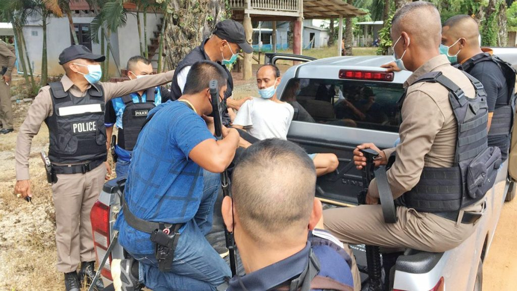 Handgun, Man Storms Krabi Hotel With a Gun to Free Family from Quarantine