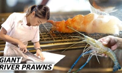 Master Chef Catches Thailand's Giant River Prawns for an Ancient Thai Dish