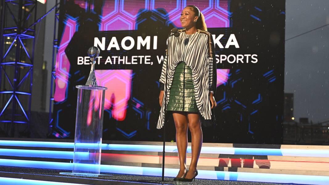 Naomi Osaka Wins Best Athlete in Women's Sports at 2021 ESPY Awards