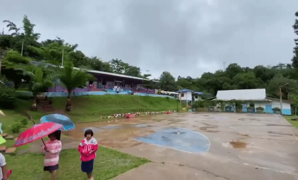 epicenter, Northern Thailand School Suffers Structural Damage after Earthquake