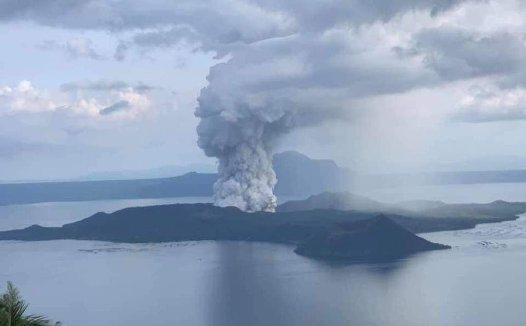 Philippines Evacuates Thousands as Taal Volcano Danger Level Rises