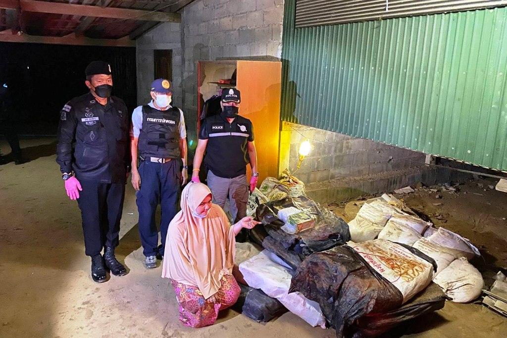 Police Seize 277Kg of Crystal Meth Under Muslim Woman s House