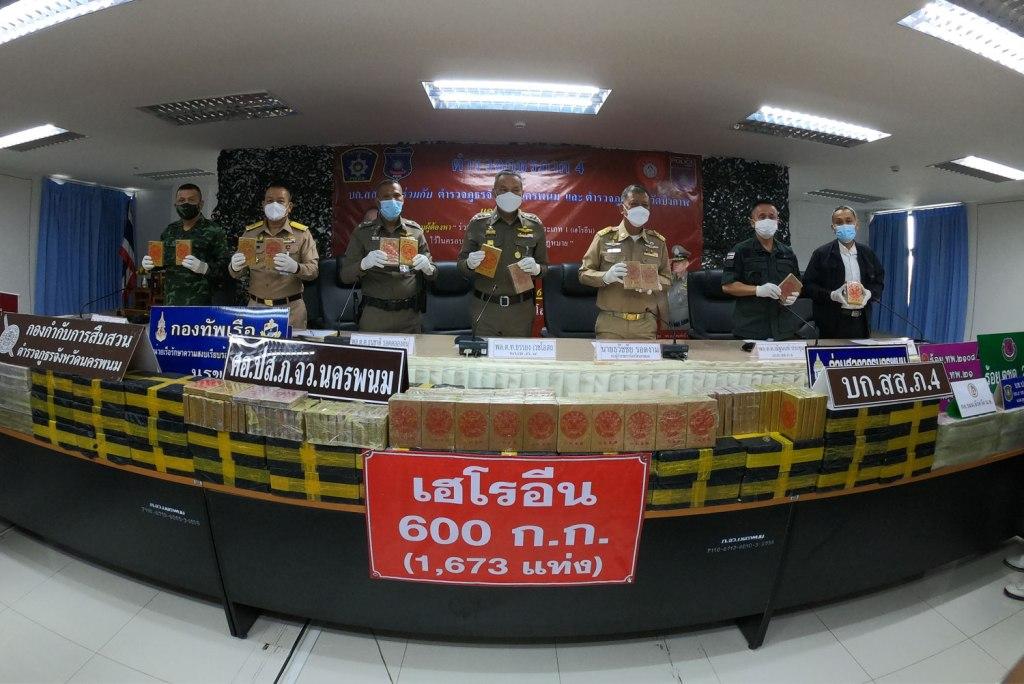 Police Seize Over US$60 Billion of Heroin in Northeastern Thailand