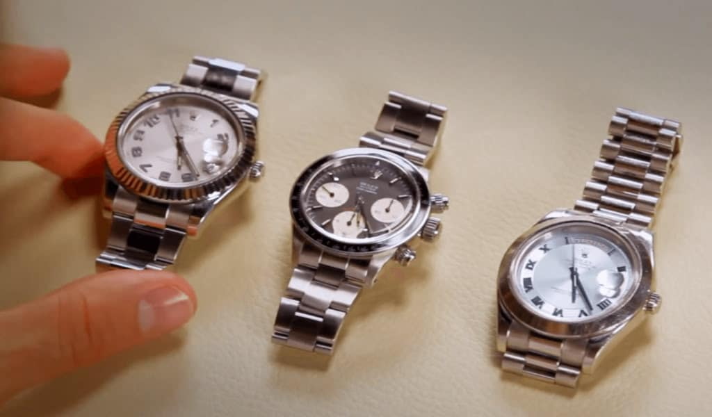 Roger Federer Explains A Few Of His Special Rolexes (Video) – Reprise