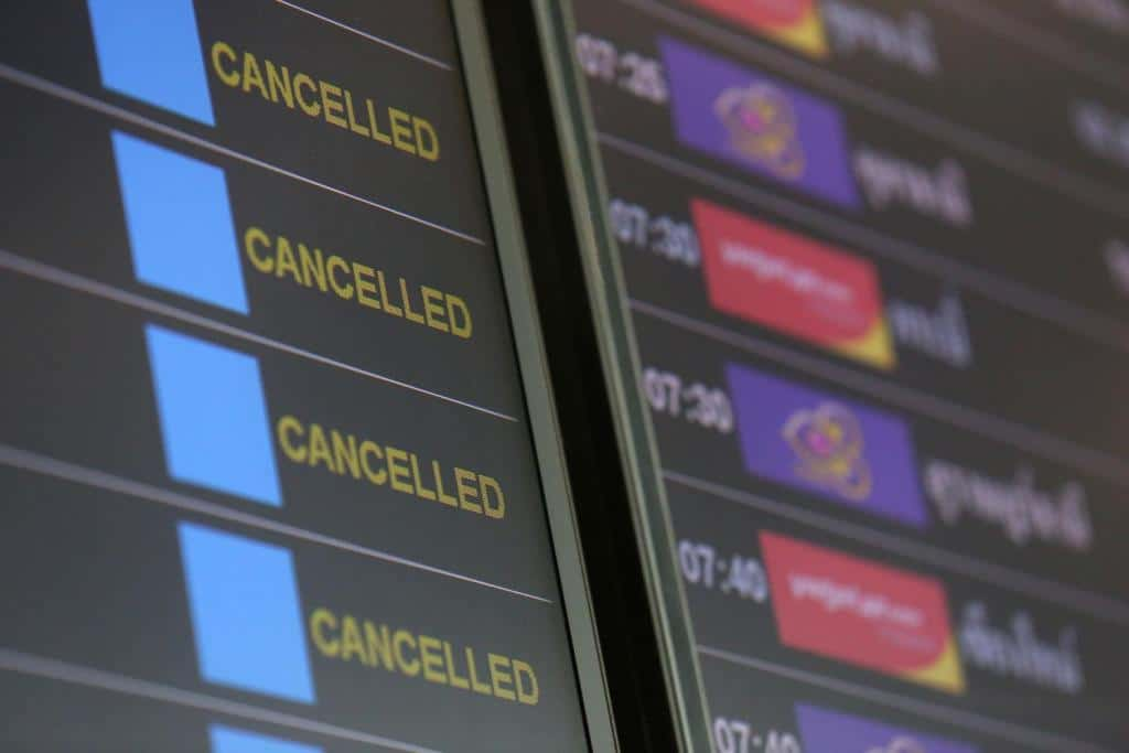 Thai Government Suspends Domestic Flight to and From Bangkok