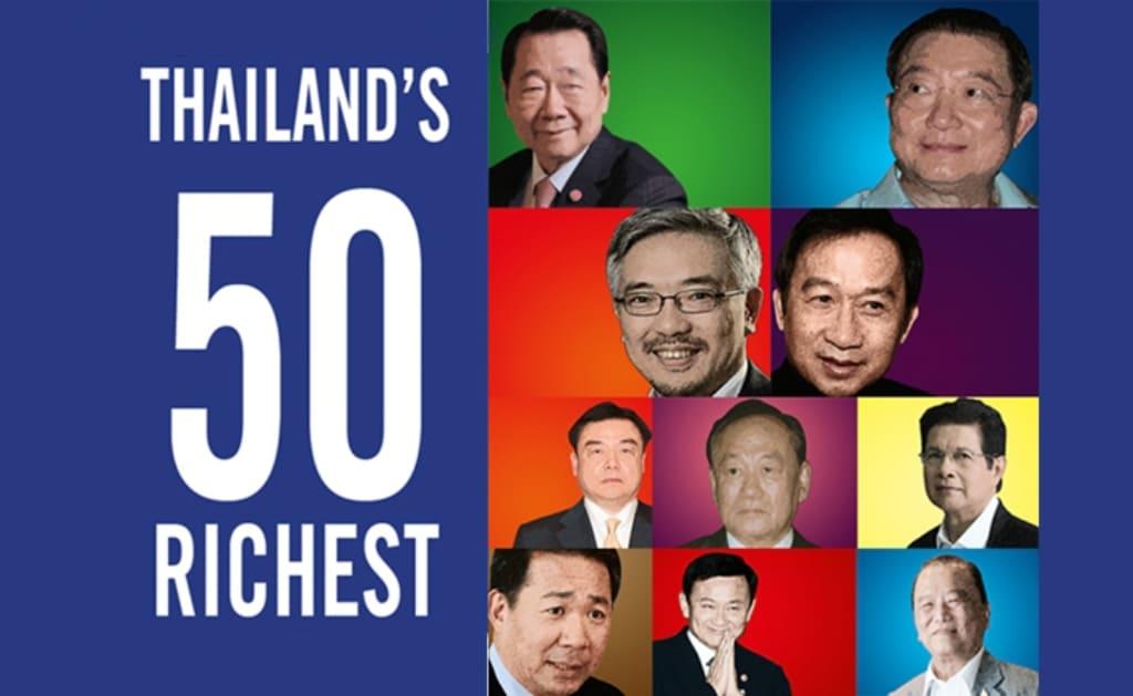 Forbes. Thailand's 50 Richest Billionaires Get Even Richer Despite Pandemic
