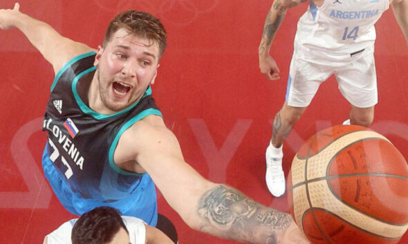 Tokyo Olympics: Luka Doncic Scores 48 Points in Historic Debut En Route to Slovenia's First-Ever Olympic win