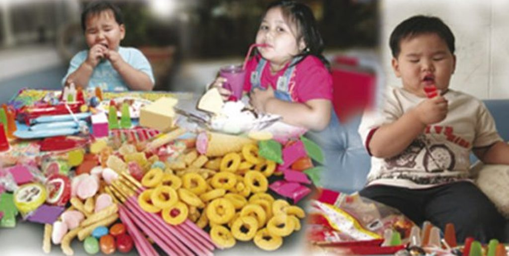 Child Obesity Becoming a Serious Problem in Thailand