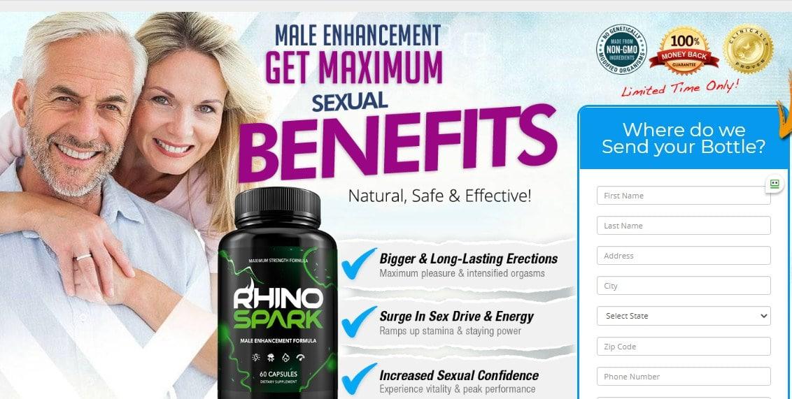 Rhino Spark Male Enhancement Pills Reviews 2021-Scam Alert Warning