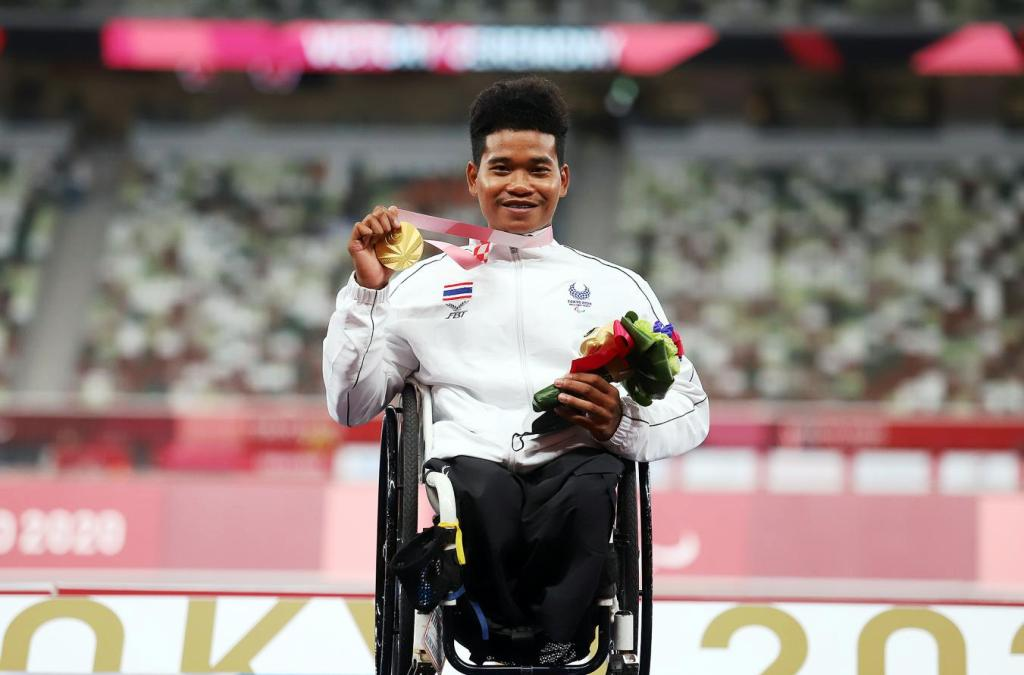 Thailand's Pongsakorn Wins Gold for Thailand at Paralympic Games