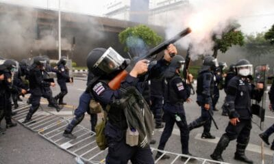 police, Anti-Government Protesters Met With Rubber Bullets and Tear Gas