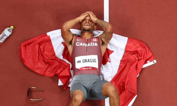 Canada's Andre De Grasse Ends Wait for Olympic Gold in Men's 200m