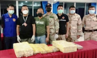 Chiang Rai Police Seize 1.2 Million Meth Pills Floating in Rivers