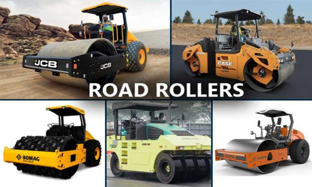 Common Types of Road Rollers That You See in Your Daily Life