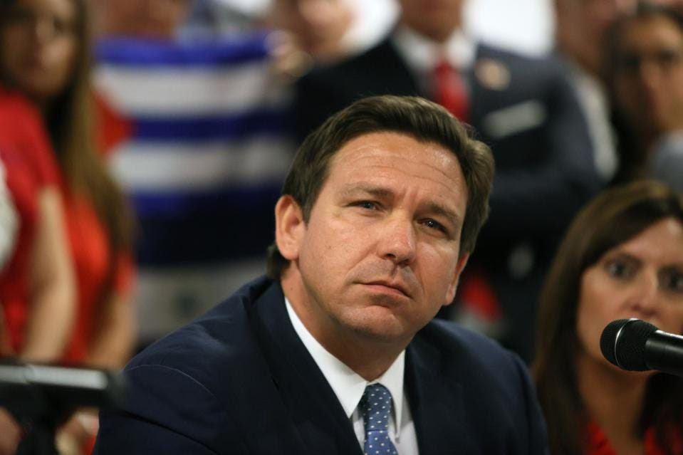 Florida Gov. Ron DeSantis just signed an Executive Order preventing schools from requiring students