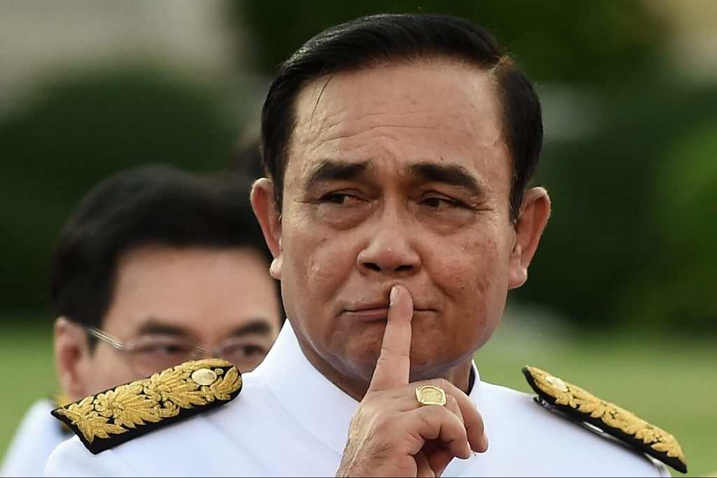 Former Junta Law Protects Gen. Prayut from Disclosing Assets