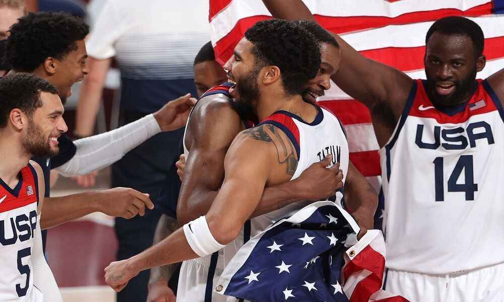 Jayson Tatum's Dad Watched in Surprise at his Son's Rising into a Gold Medal Winner