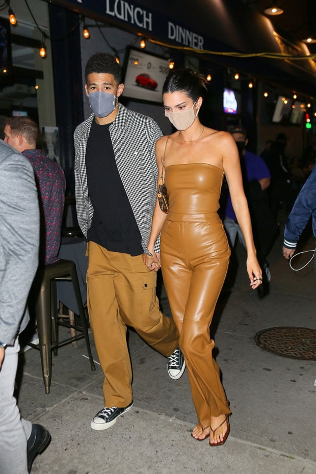 Kendall Jenner and Devin Booker looking stylish during a previous outing.