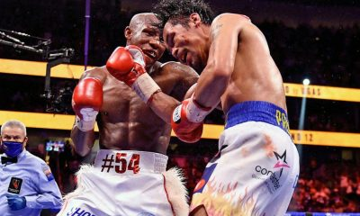 Manny Pacquiao Loses to Yordenis Ugas a T-Mobile Arena in Las Vegas