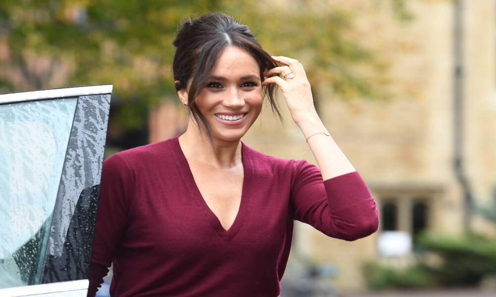 Meghan Markle Celebrates Her 40th Birthday With Melissa McCarthy Video,Meghan Markle,royals,meghan markle,prince harry,melissa mccarthy