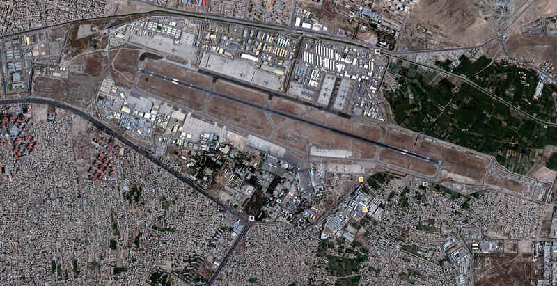 Multiple Explosions Near The Kabul Airport