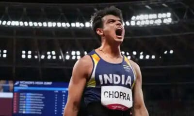 Neeraj Chopra Turns Olympic Legend With India's First Athletics Gold in Javelin Throw
