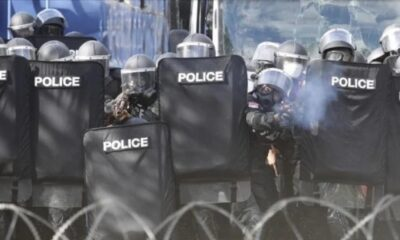Police Open Fire With Rubber Bullets on Democracy Protesters in Bangkok