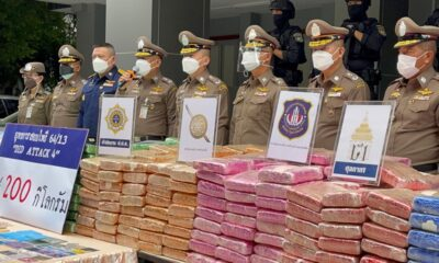 Thai Police Seize Huge Cache of Drugs in Four Raids, 21 Arrested