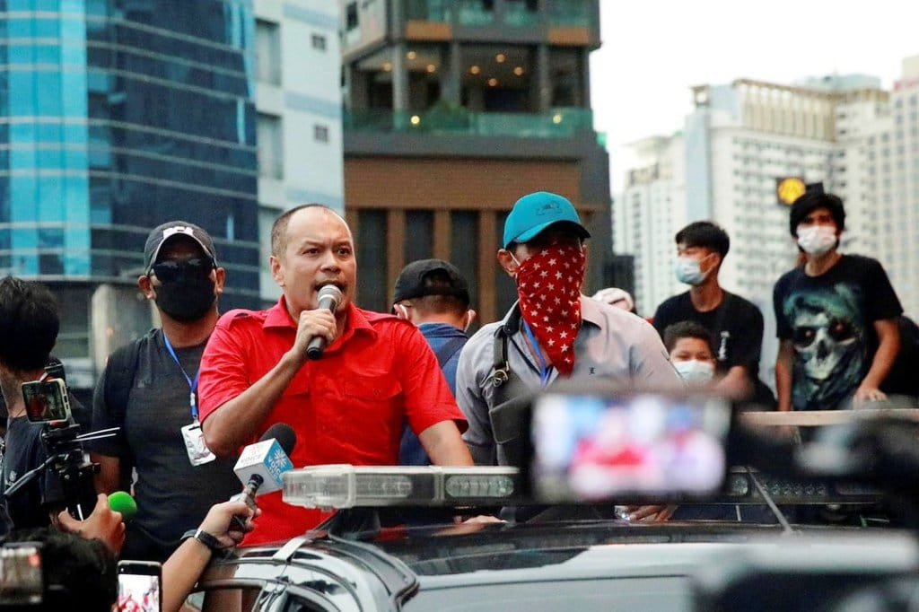 Car rally,Thailand's Red Shirt Leader to Lead Car Rally Protests in Bangkok