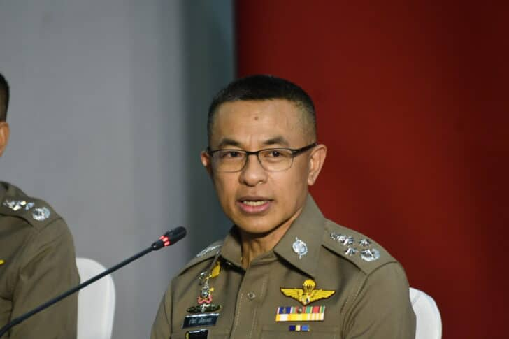Thailand's Top Cop and Family Worth US$3.1 Million Dollars