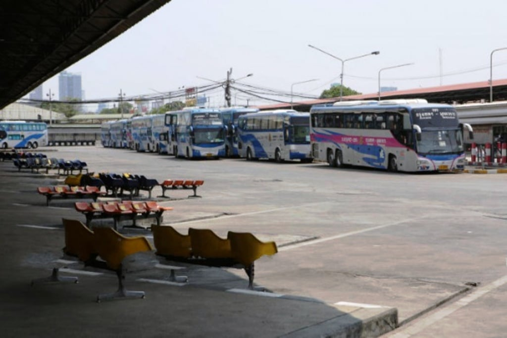 bus, Thailand's Transport Company Suspends all Interprovincial Bus Services