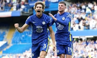 Top of the Premier League Table Blue Chelsea Sinks Arsenal 2-0