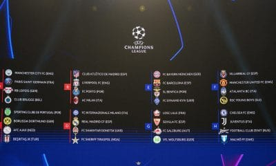 UEFA Champions League Draw Results: Man City Draw PSG in Group of Death
