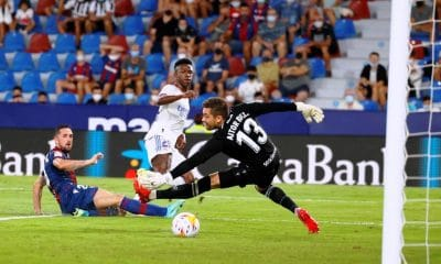 Vinicius Saves Real Madrid With Tier for 3-3 Draw with Levante