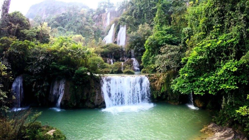 Thi Lo Su Waterfall, Thailand