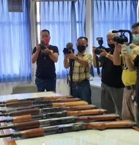 Defence Volunteers Arrested for Allegedly Stealing Firearms