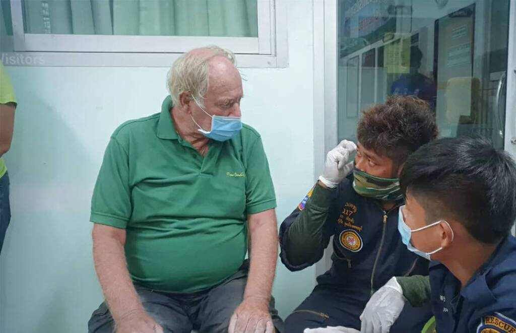 police, 79 Year-old Dutchman Lost in Jungle for Three Days Rescued
