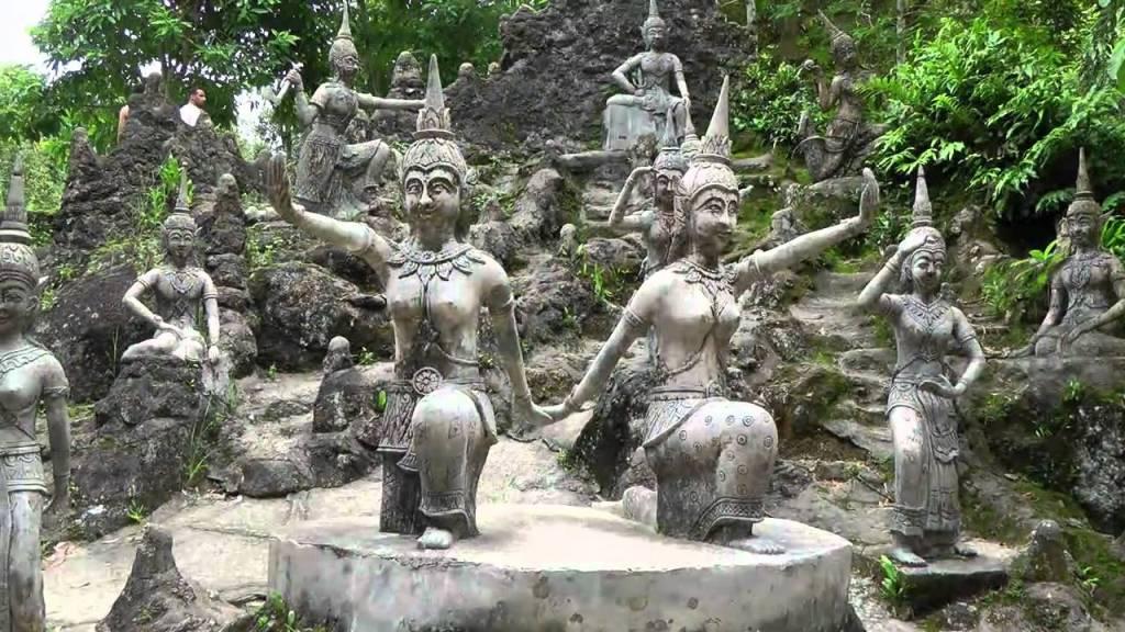 Secret Buddha Garden in Koh Samui, Thailand