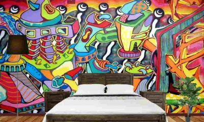 What the Bedroom Would Look Like with Graffiti Art