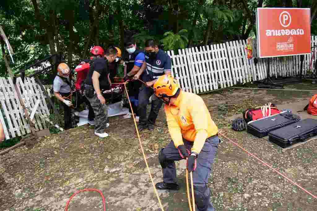 bicycle, Cyclist Plunges 30 Meters to his Death in Northern Thailand