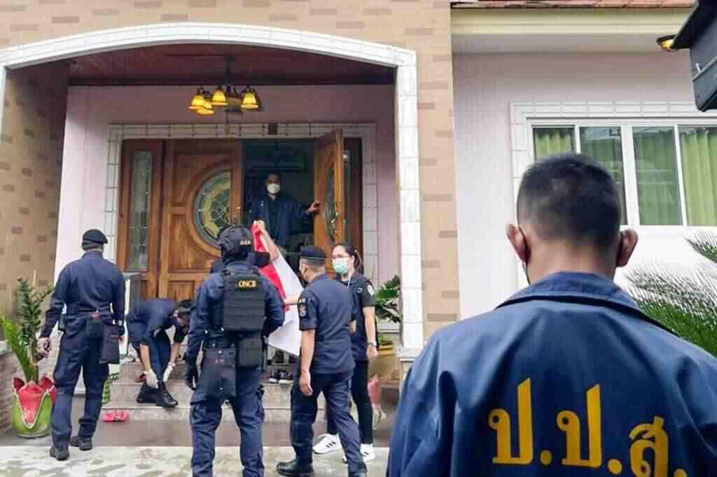 Drug Suppression Police Seize Assets Worth 58 Million Baht