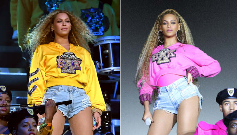 Beyoncé performed two nights at Coachella in 2018.