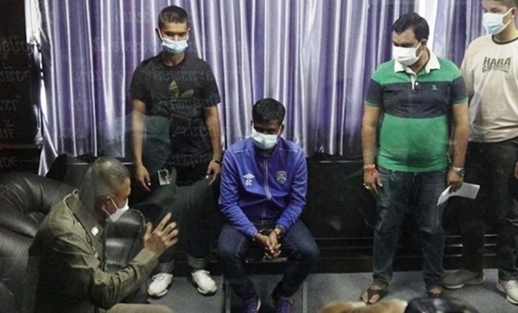 thailand, police, visa