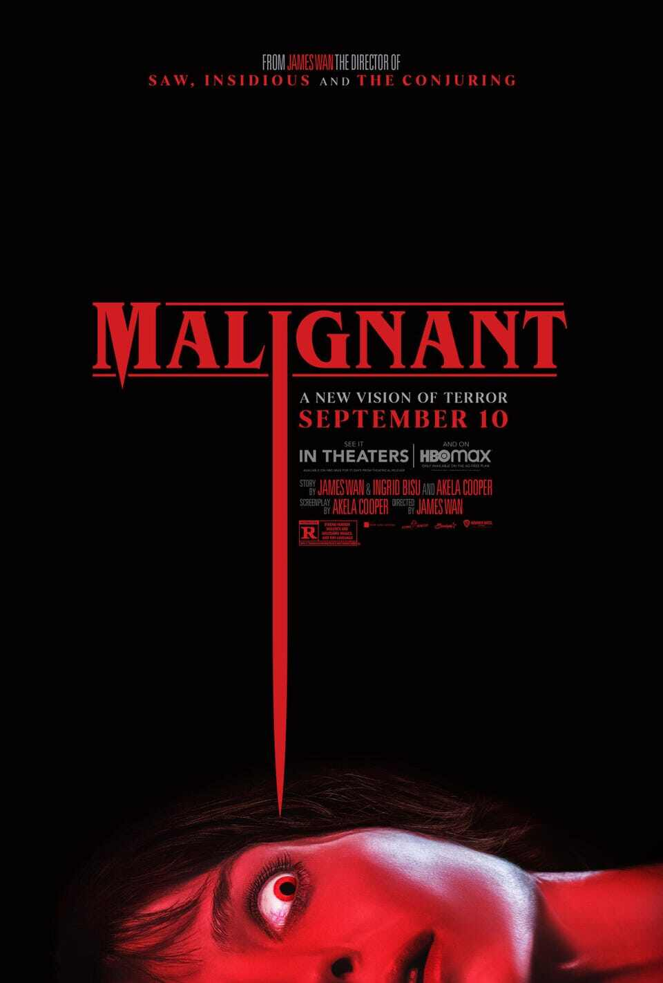 'Malignant' WARNER BROS. AND NEW LINE