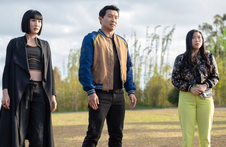 Meng'er Zhang, Simu Liu) and Awkwafina (Photo: Jasin Boland)