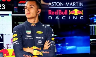 red bull, Mercedes Formula One Won't Sign Albon Without Red Bull Release